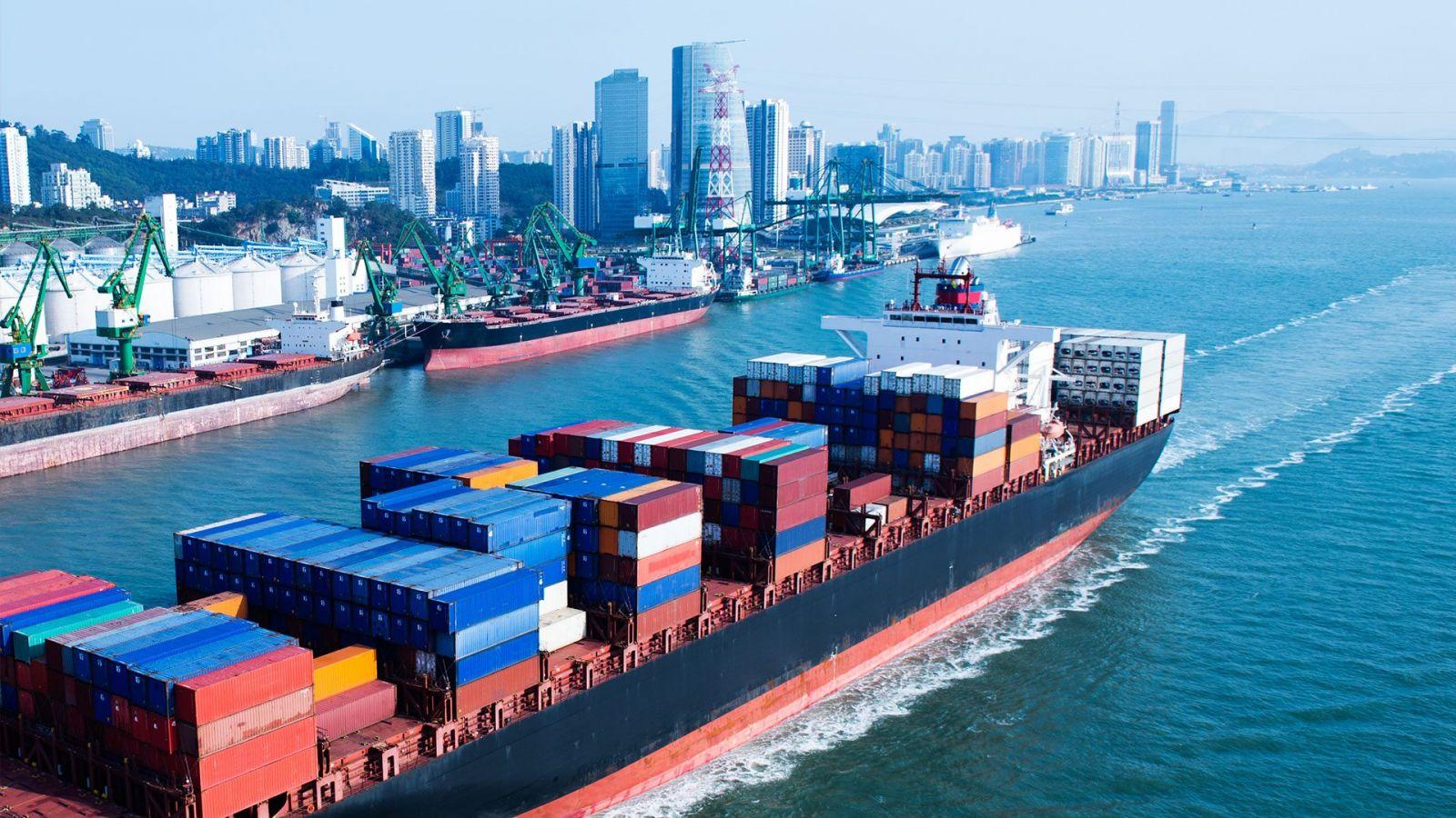 Quy trình làm hàng xuất bằng đường biển (LCL)