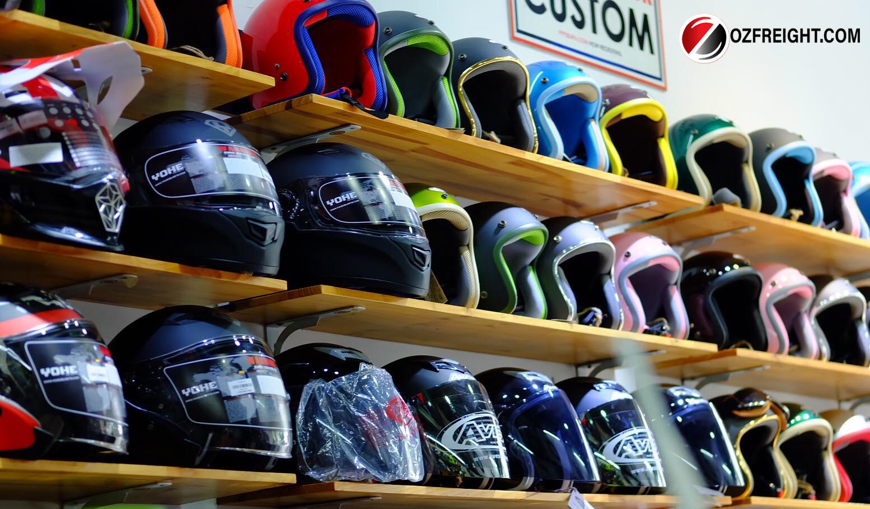 thủ tục nhập khẩu mũ bảo hiểm