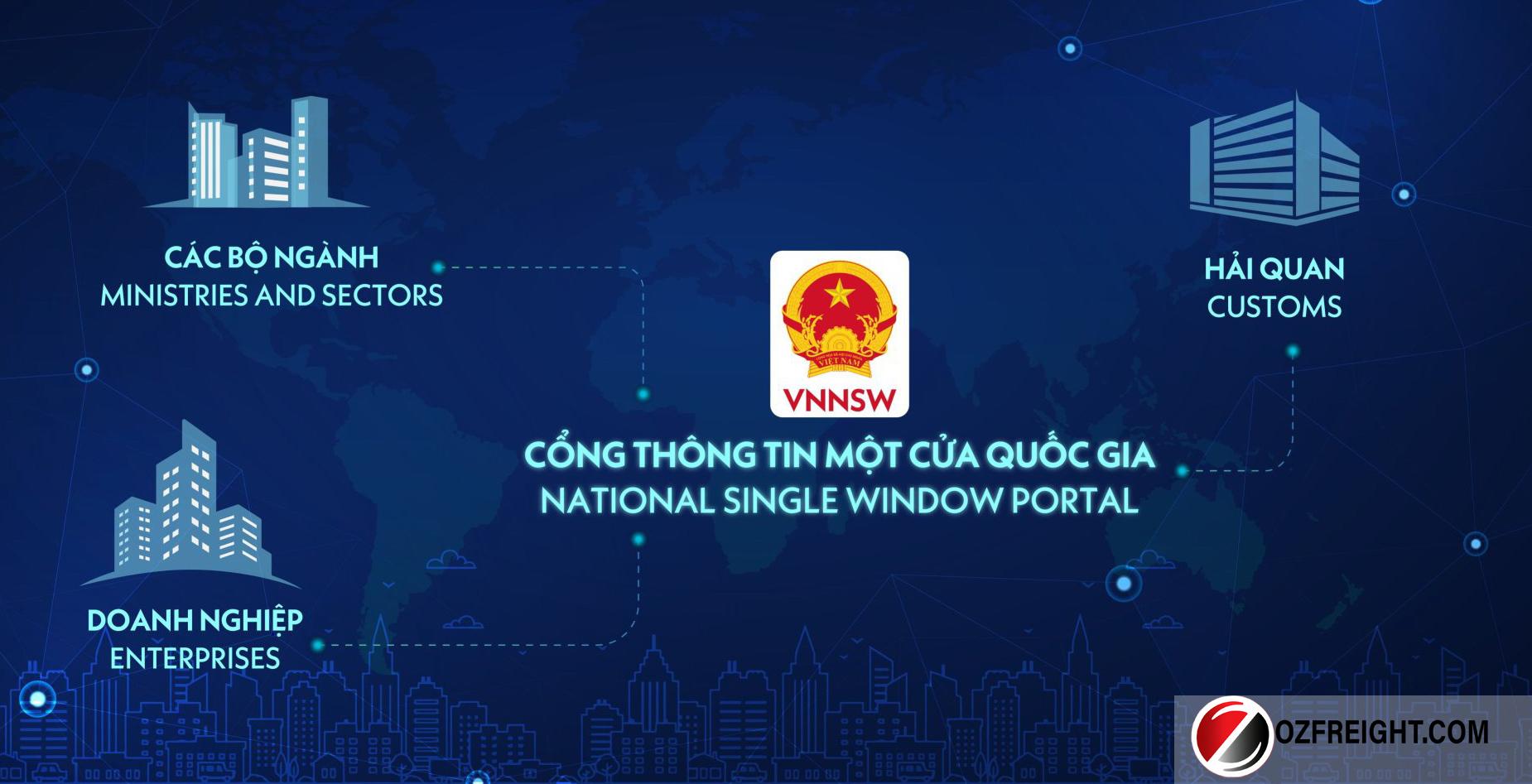 cổng thông tin một cửa quốc gia