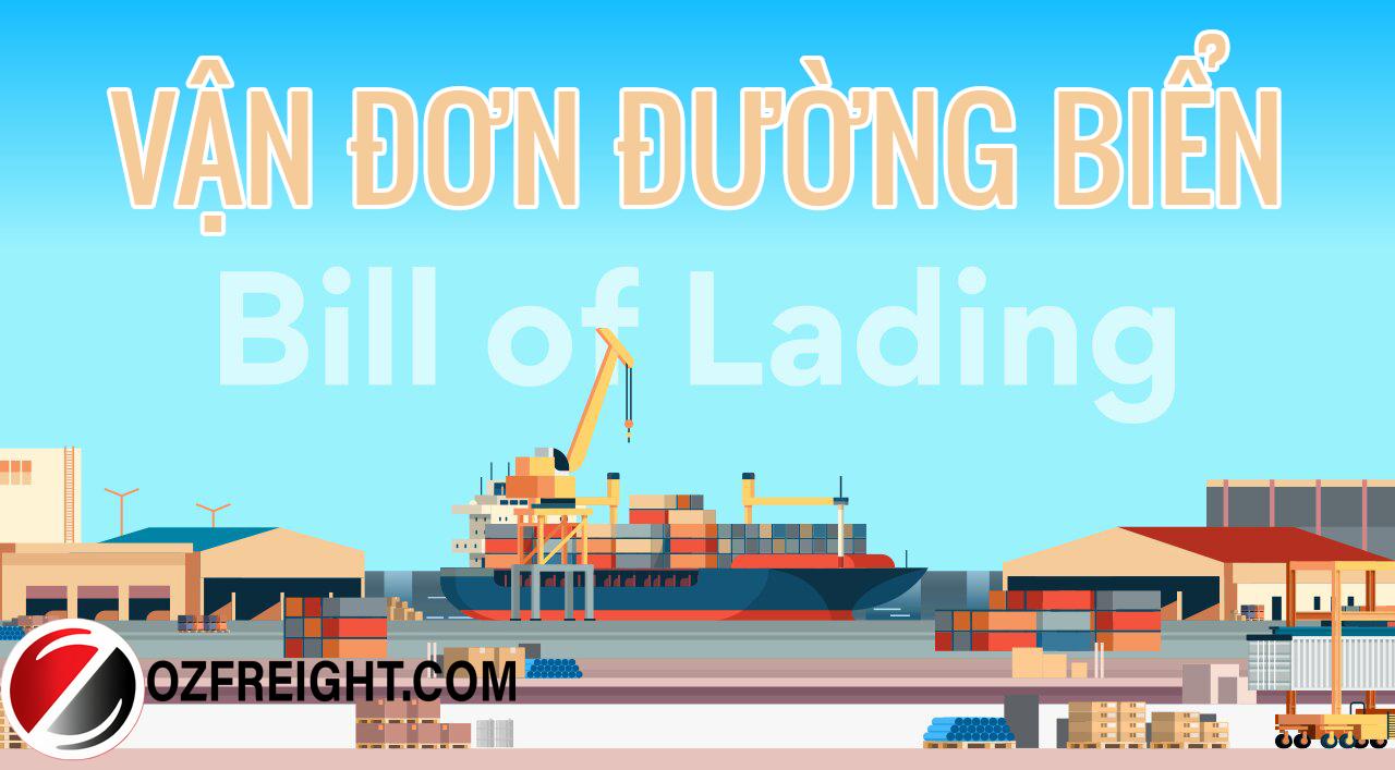 Vận đơn đường biển (bill of lading)