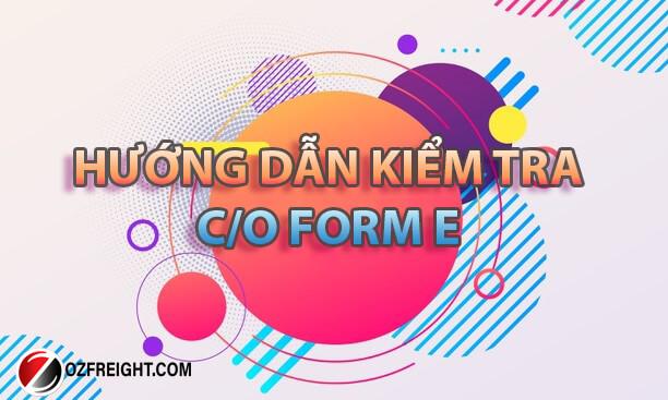 hướng dẫn nhập khẩu co form e